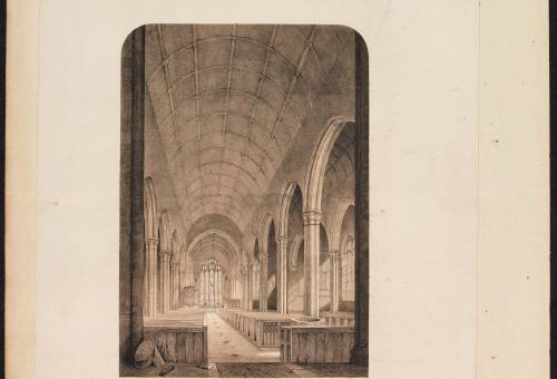 Nave, church unknown
