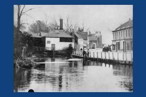 Merton High Street: River Wandle and Amery Mills