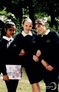 Pupils at Ricards Lodge School, Wimbledon
