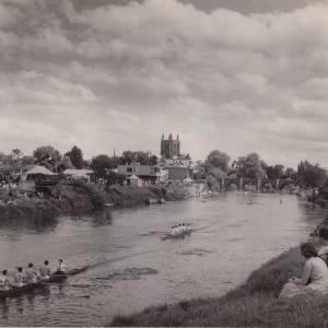 Hereford Rowing Club Regatta 1958