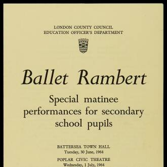 London Secondary Schools, June–July 1964 - P01