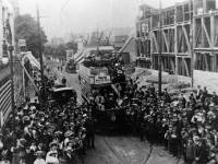 Launch of the tram service between Wimbledon and Raynes Park