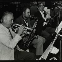 Kenny Baker, Danny Moss and Henry Mackenzie