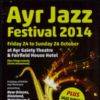 Flyer - Ayr Jazz Festival 2014
