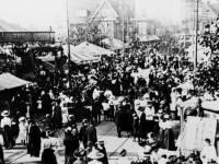 The fairground on Fair Green, Mitcham