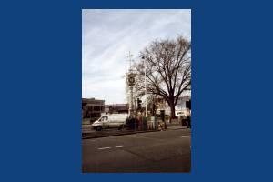 London Road, Mitcham: Mitcham Clock Tower