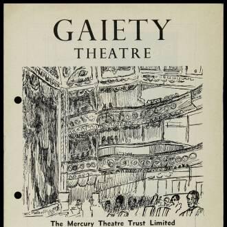 Gaiety Theatre, Dublin, November 1964