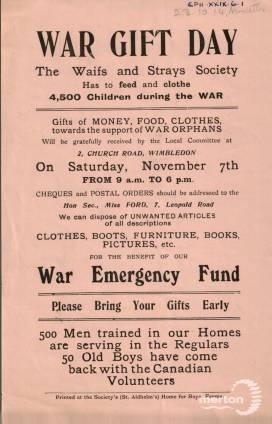 War Gift Day