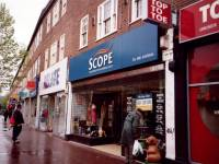 Scope and Relate Charity Shops, London Road,