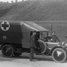 World War One Ambulance