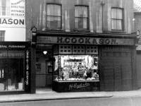 Merton High Street, No. 109:  H.Cook and Sons, Butchers