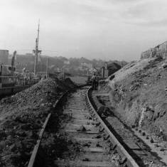 Ballast railway, South Shields