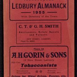 Tilley's Ledbury Almanack 1955