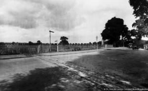 Site of Morden Underground Station, London Road