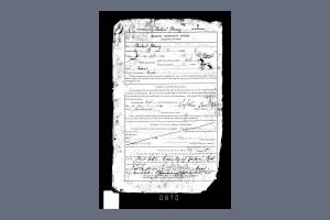 Service Records for Private Richard Stenning - Physical Description