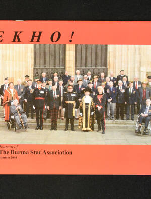 DEKHO! The Journal of The Burma Star Association - Issue No. 159, Year 2008