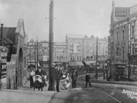 The Broadway, Wimbledon: Seen from Wimbledon Bridge