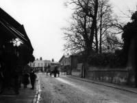 Whitford Lane, Mitcham, looking towards Fair Green