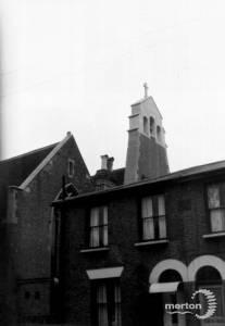 All Saints' Church, Wimbledon: west elevation