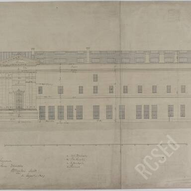 No. 7 Drawing of Southern Elevation