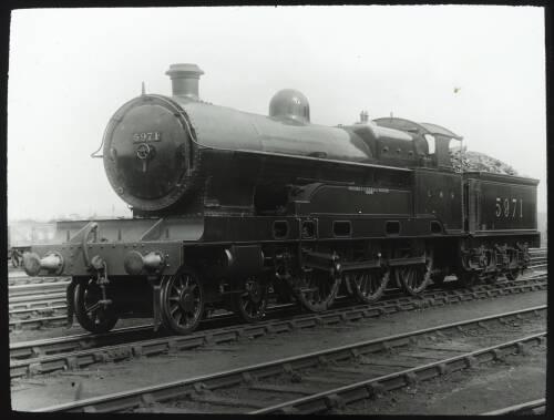 "Steam locomotive 5971 ""Croxteth"""