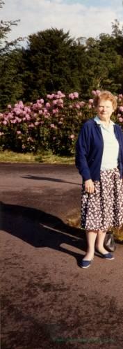 Sybil Nicholls (nee Chamberlain)