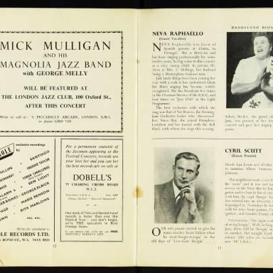 National Federation of Jazz Organisations, Royal Festival Hall - 1955 008