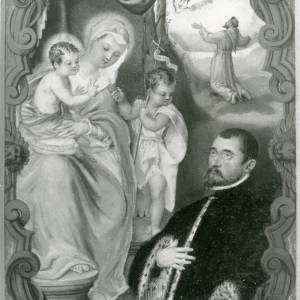 G36-213-06 Painting of Virgin & Child & St John with nobleman & monk seeing a vision .jpg