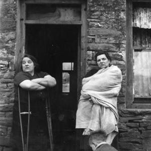 Two miners' wives