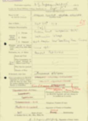 RMC Form 18A Personal Detail Sheets Feb & Sept 1933 Intake - page 224