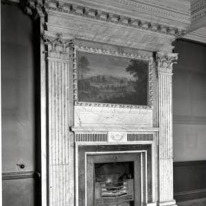 Aramstone House fireplace, 1956