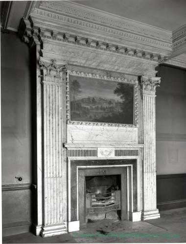 Aramstone House fireplace, 1956