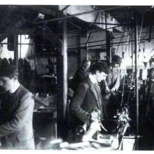 Watkin's Meter Factory during the First World War, 1915