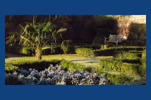 The Canons walled garden
