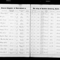 Burial Register 46 - March 1891 to February 1892