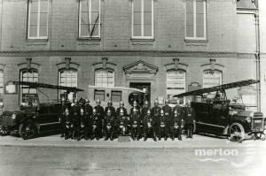 Mitcham Volunteer Fire Brigade, pre 1934