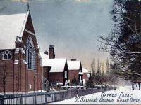 St Saviours Church, Raynes Park