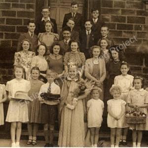 Burncross Methodist Chapel Group c1947