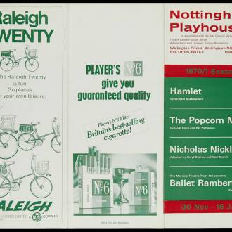 Nottingham Playhouse, January 1971