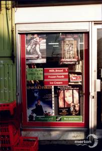 Fair Green, Mitcham: video shop