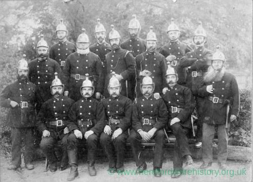 Ross-on-Wye Fire Brigade c. late 1800s (Messrs Bustin)