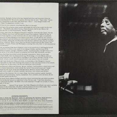 Duke Ellington Orchestra British Tour – November 1973 005