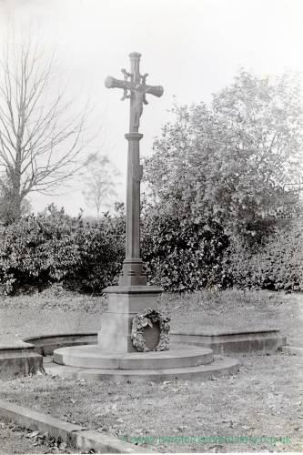 Brockhampton cross, 1928