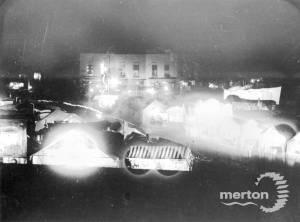 Mitcham Fair at night