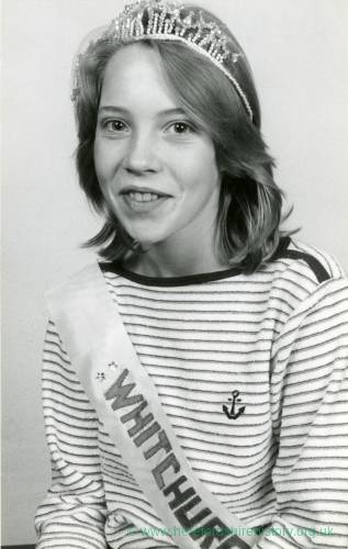 A young girl, Miss Whitchurch, 29th July 1982