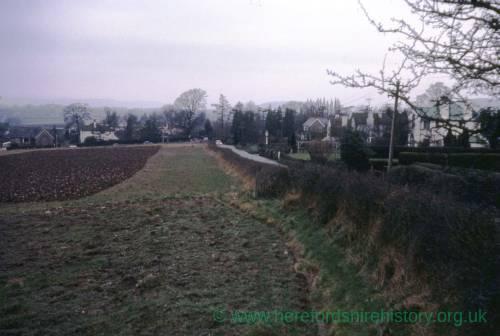 Roman Road Hereford, 1968