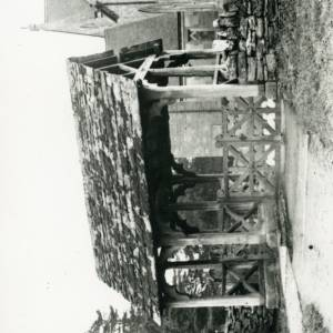 Bodenham Church, lych gate, 1926
