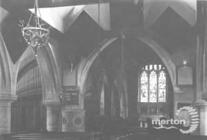 Interior of St. Mary's, Merton Park