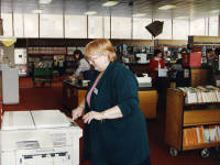 Mitcham Library: First photocopier