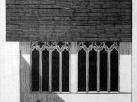 Side elevation, Merton Parish Church